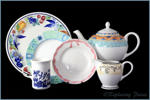 Discontinued Churchill Tableware