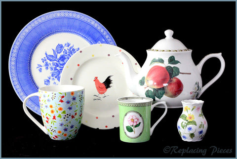Discontinued Queens Tableware