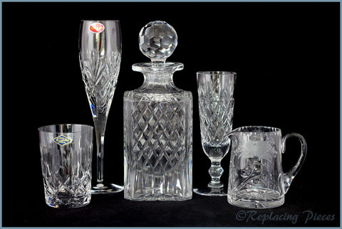 Discontinued Royal Brierley Crystal