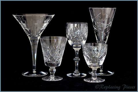 Discontinued Royal Doulton Crystal