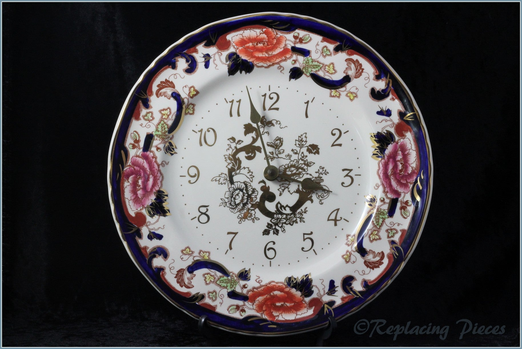 Masons - Mandalay Blue - Clock Plate