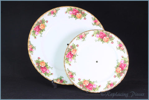 Royal Albert - Old Country Roses - 2 Tier Cake Stand (No Rods)