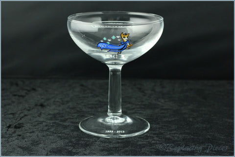 Babycham Glass - 60th Anniversary