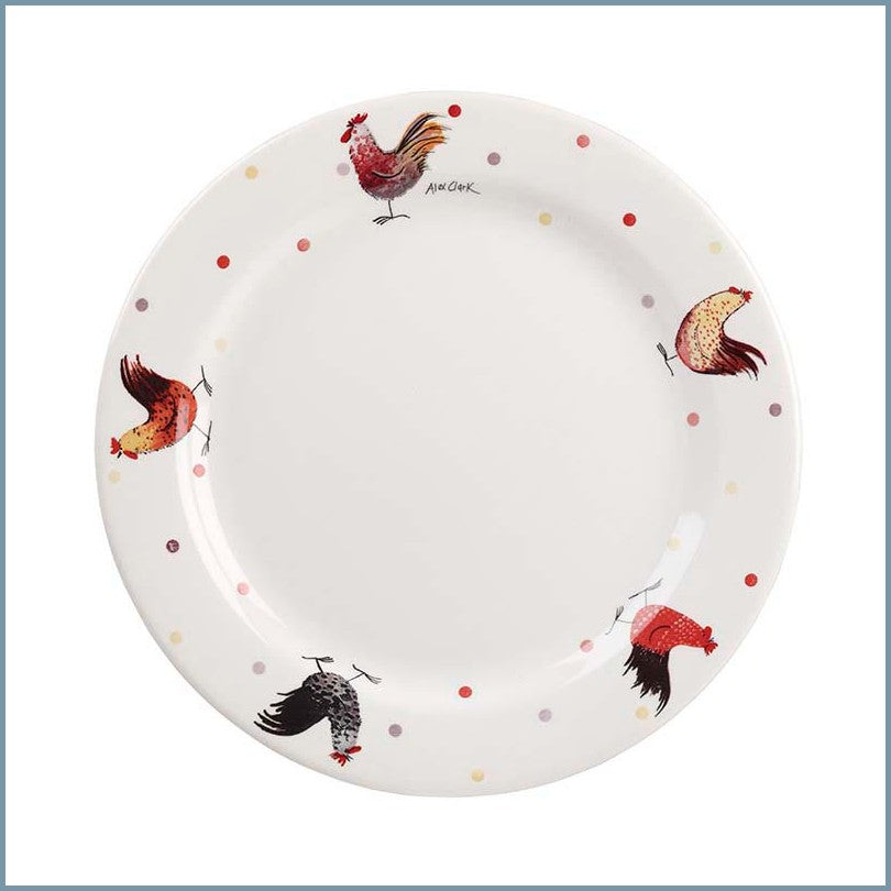 Churchill - Alex Clark Rooster - Dinner Plate