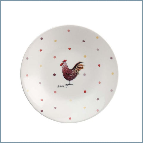 "Churchill - Alex Clark Rooster - 8"" Coupe Bowl"