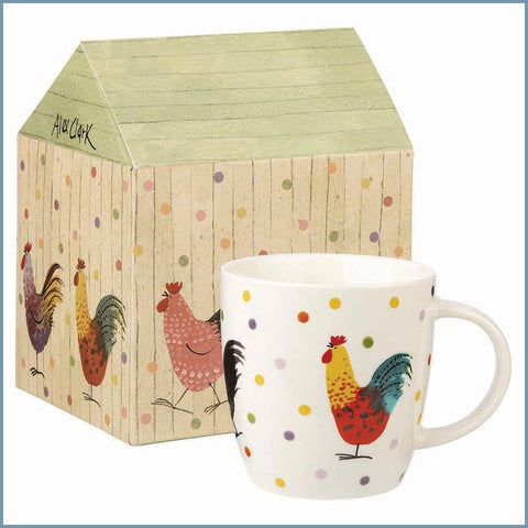 Churchill - Alex Clark Rooster - Mug In Giftbox - New (Discontinued)