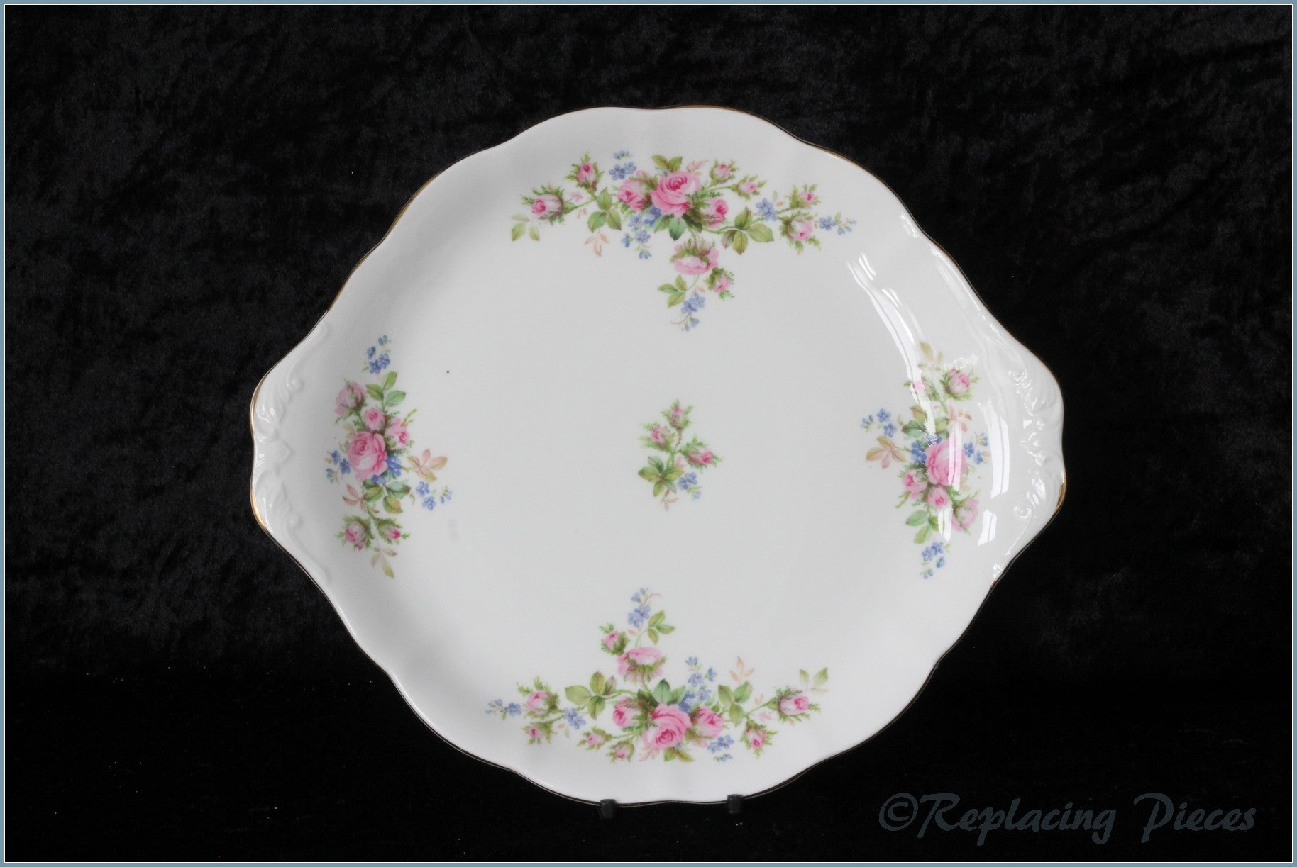 Royal Albert - Moss Rose - Bread & Butter Serving Plate