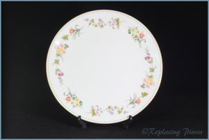 "Wedgwood - Mirabelle (R4537) - 9 5/8"" Round Bread & Butter Serving Plate"