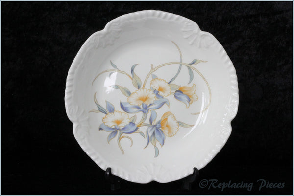 Aynsley - Just Orchids - Soup Bowl