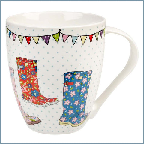 Queens - Caravan Trail - Festival Wellies Crush Mug