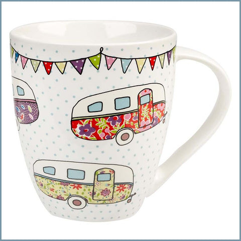 Queens - Caravan Trail - Festival Caravans Crush Mug