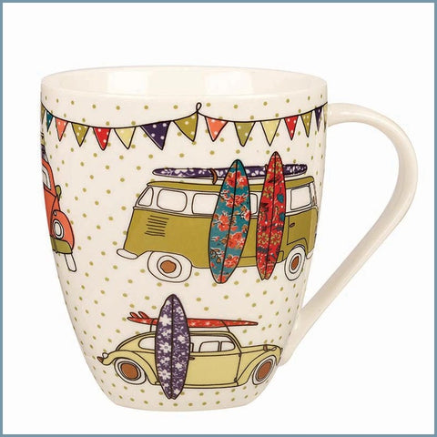 Queens - Caravan Trail - Festival Surf Crush Mug