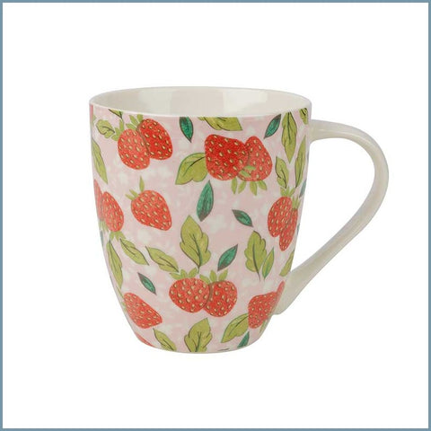 Queens - Caravan Trail - Strawberry Pink Crush Mug