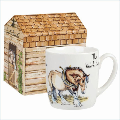 Queens - Country Pursuits - Snooze The Workhorse Mug In Gift Box - NEW