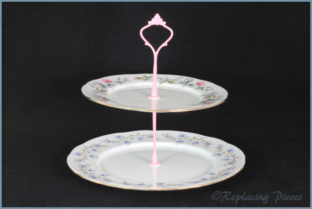 Cake Stand - RPCS6 (Duchess Tranquility & Bramble Rose)