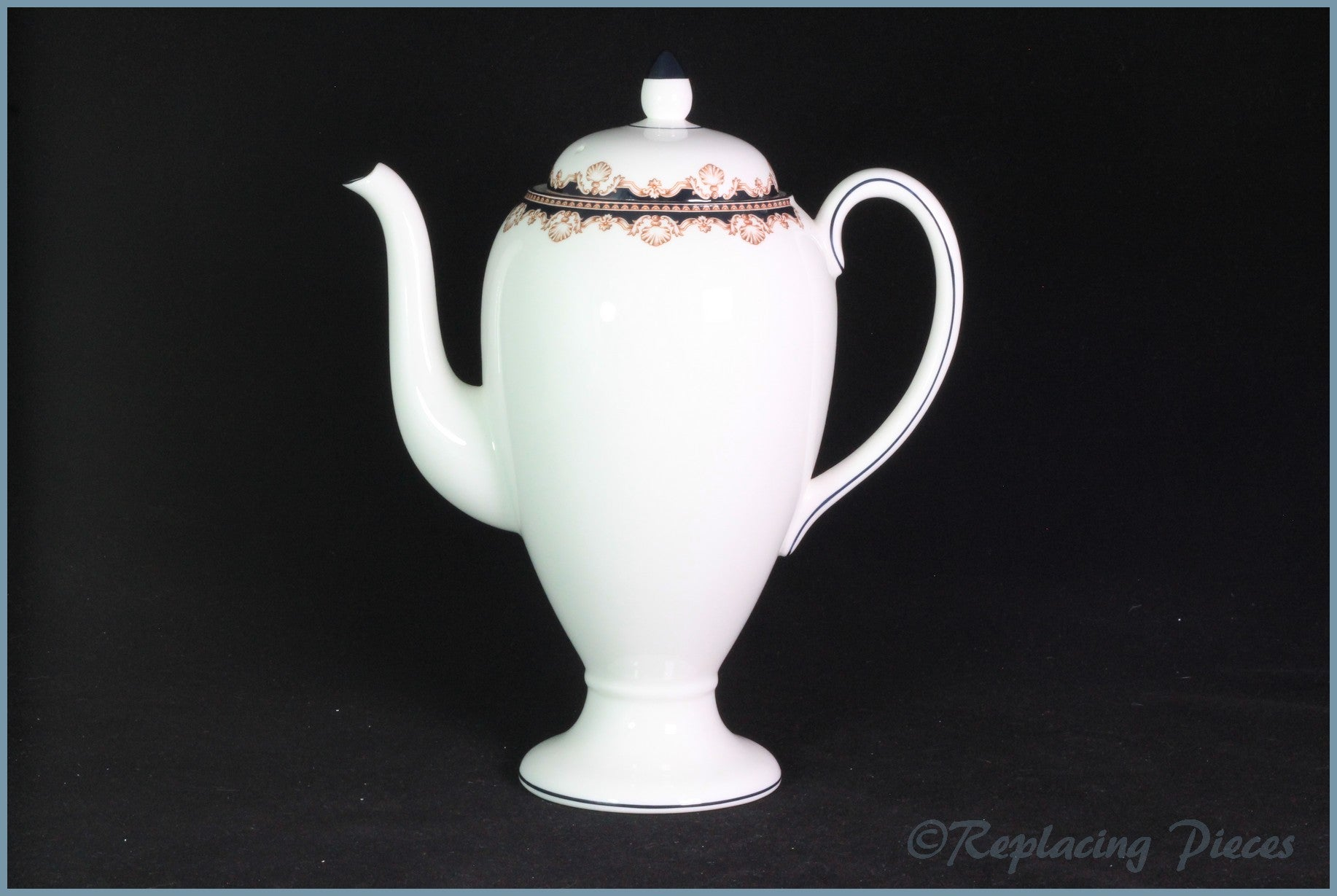 Wedgwood - Medici (R4588) - Coffee Pot