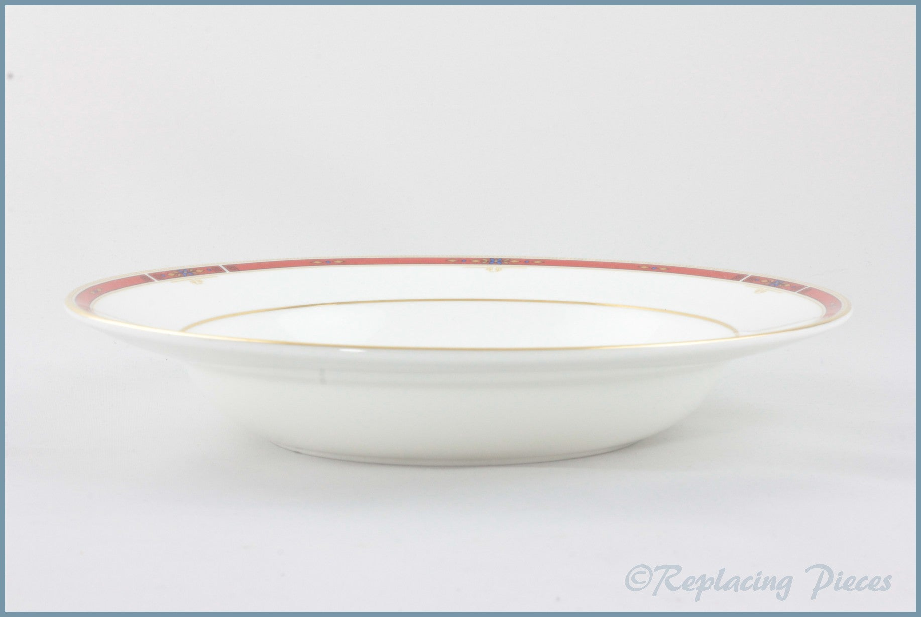 "Wedgwood - Colorado - 8"" Rimmed Bowl"