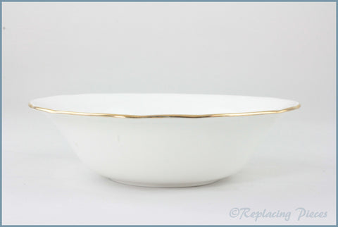 Duchess - White & Gold - Cereal Bowl
