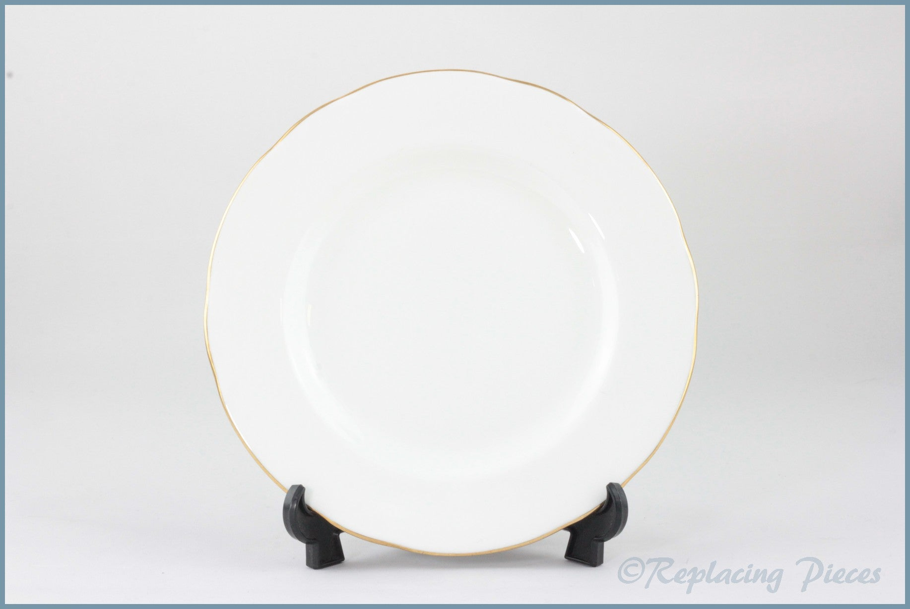 "Duchess - White & Gold - 6 5/8"" Side Plate"