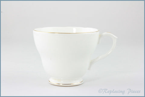 Duchess - White & Gold - Teacup