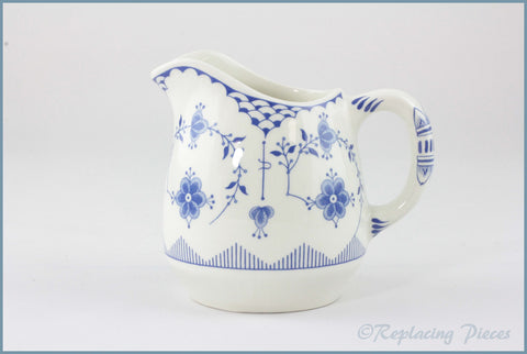 Furnivals - Denmark Blue - Milk Jug