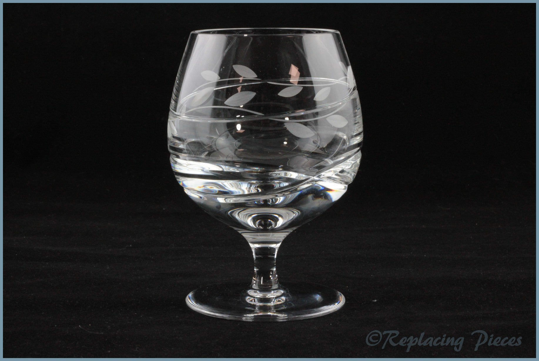 Gleneagles - Laurel - Brandy Glass