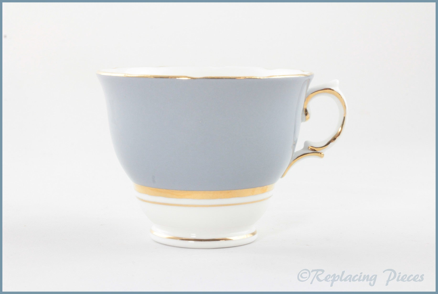 Colclough - Harlequin Ballet (Grey) - Teacup