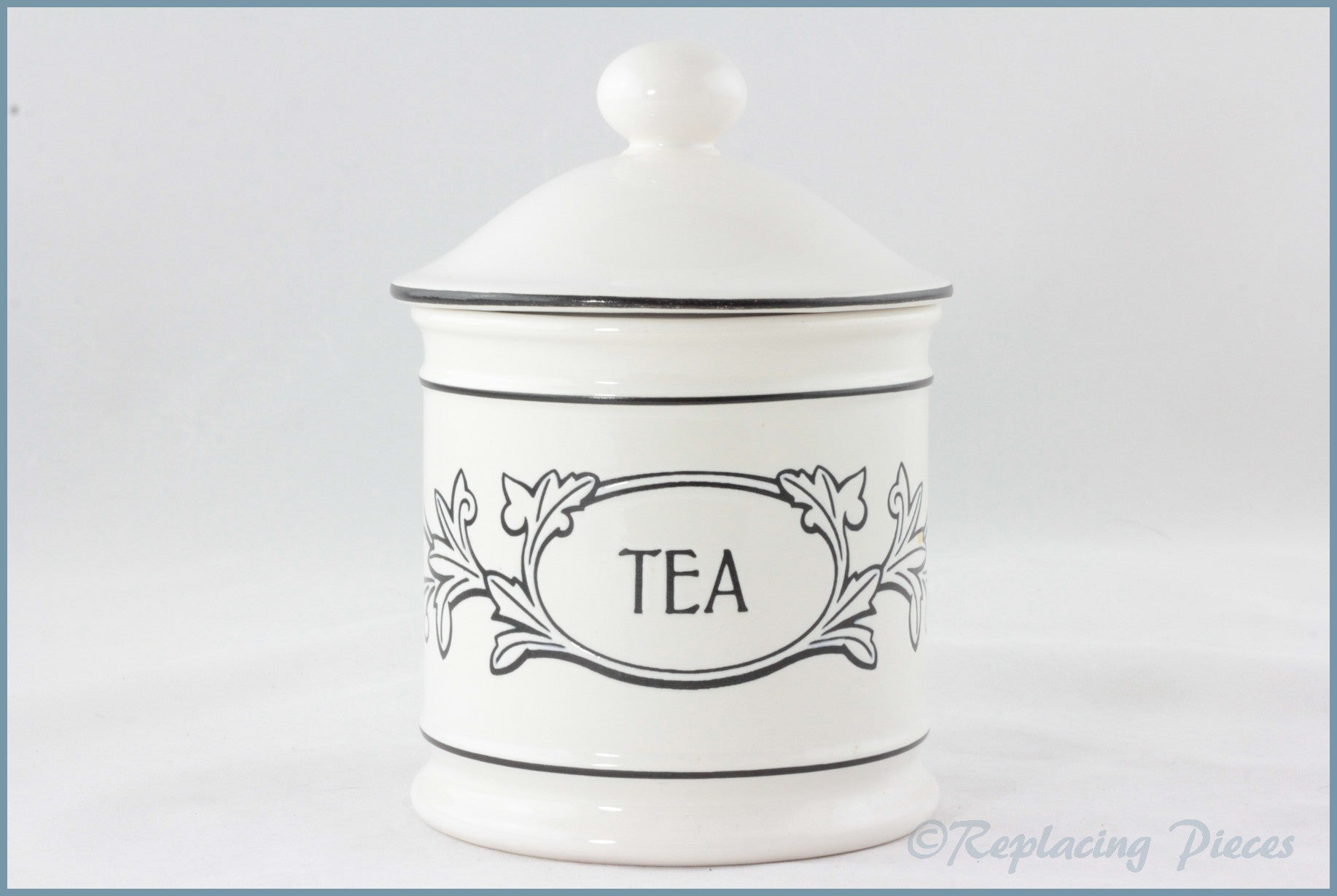 Hornsea - Acanthus - Tea Storage Jar