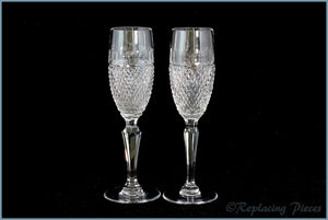 (DU1) Dartington - Pair Of Champagne Flutes