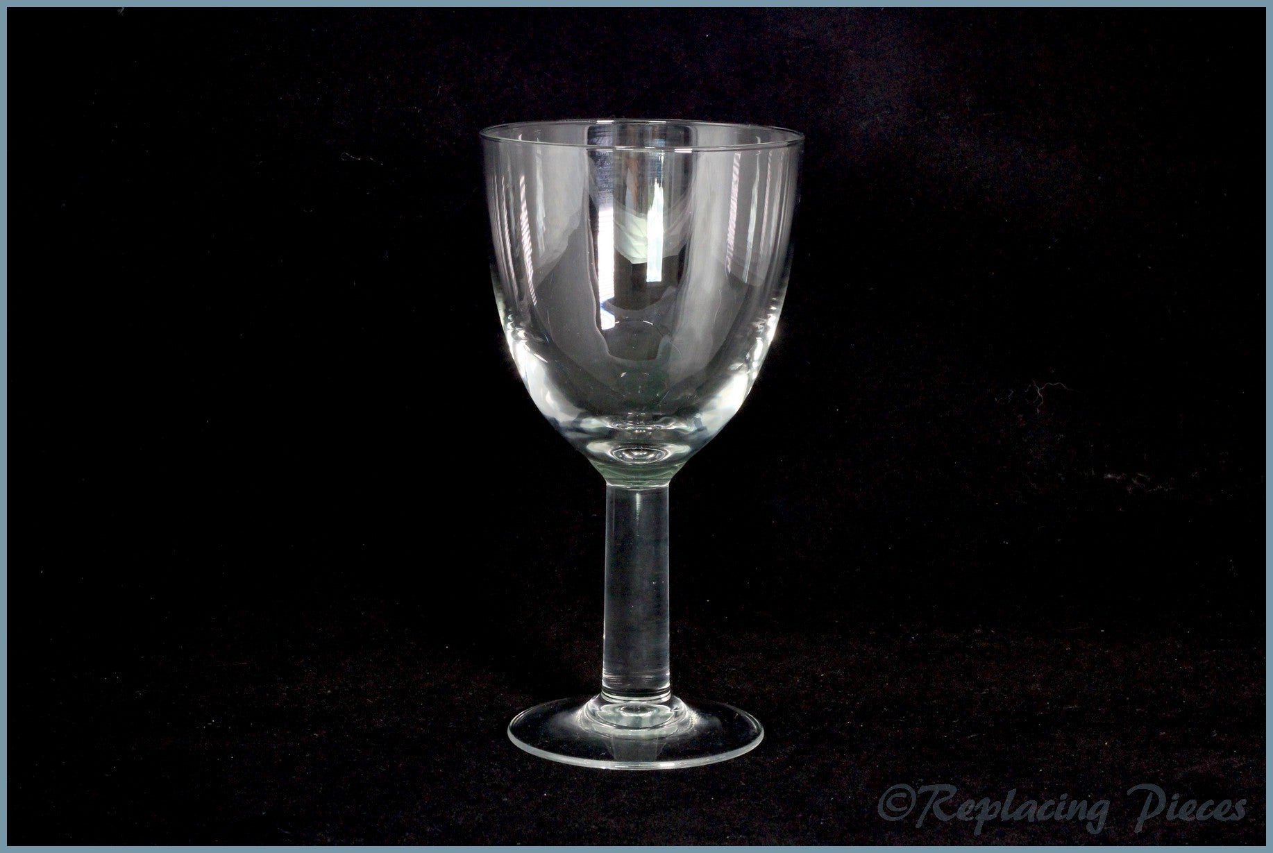 Denby - White By Denby - Wine Glass (Old Style)