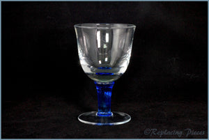 Denby - Imperial Blue - Wine Glass