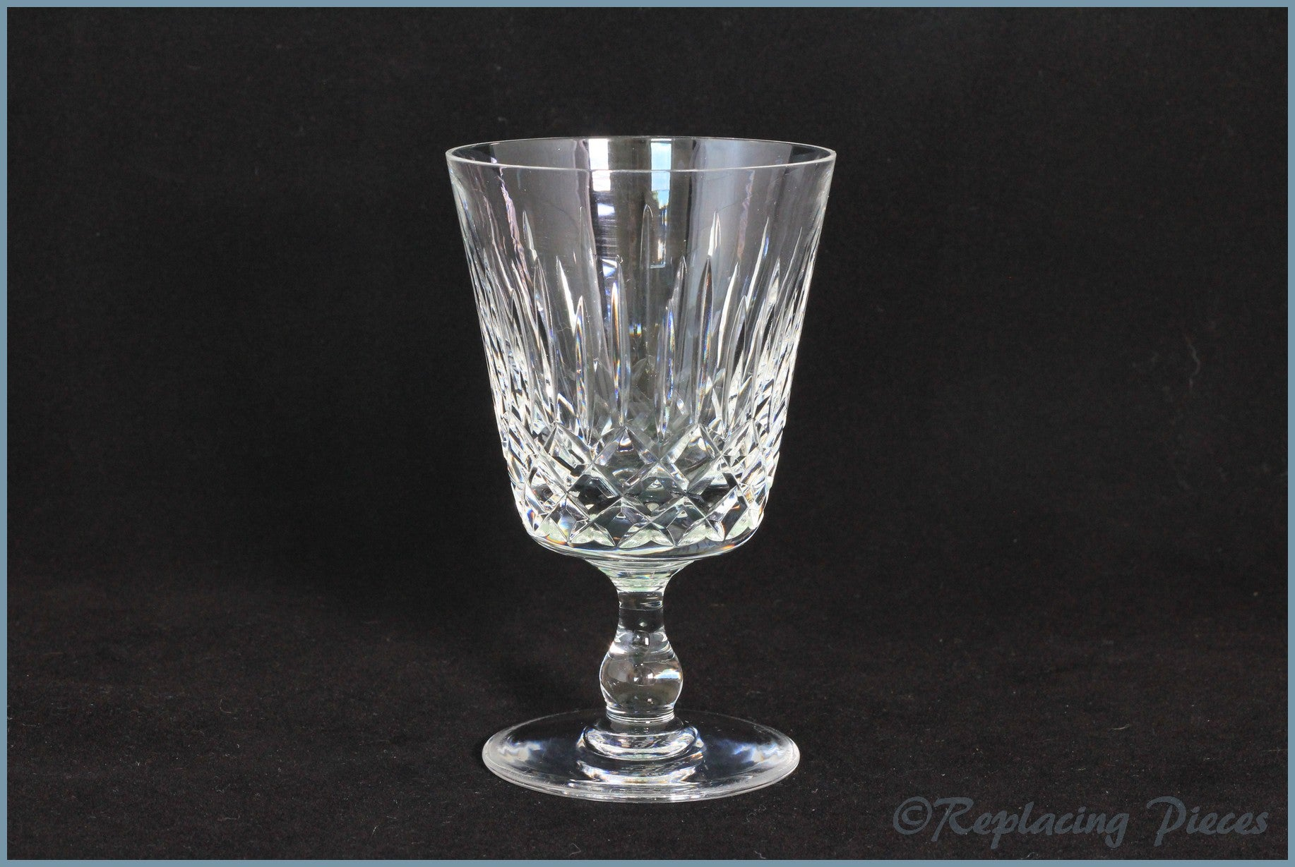 Edinburgh Crystal - Appin - Water Goblet