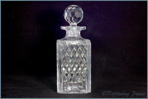 Royal Brierley - Coventry - Square Decanter