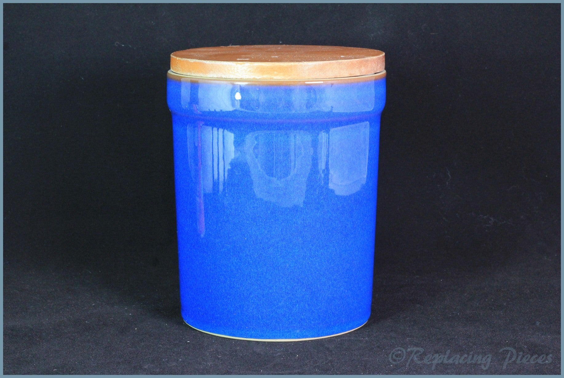 Denby - Imperial Blue - Storage Jar