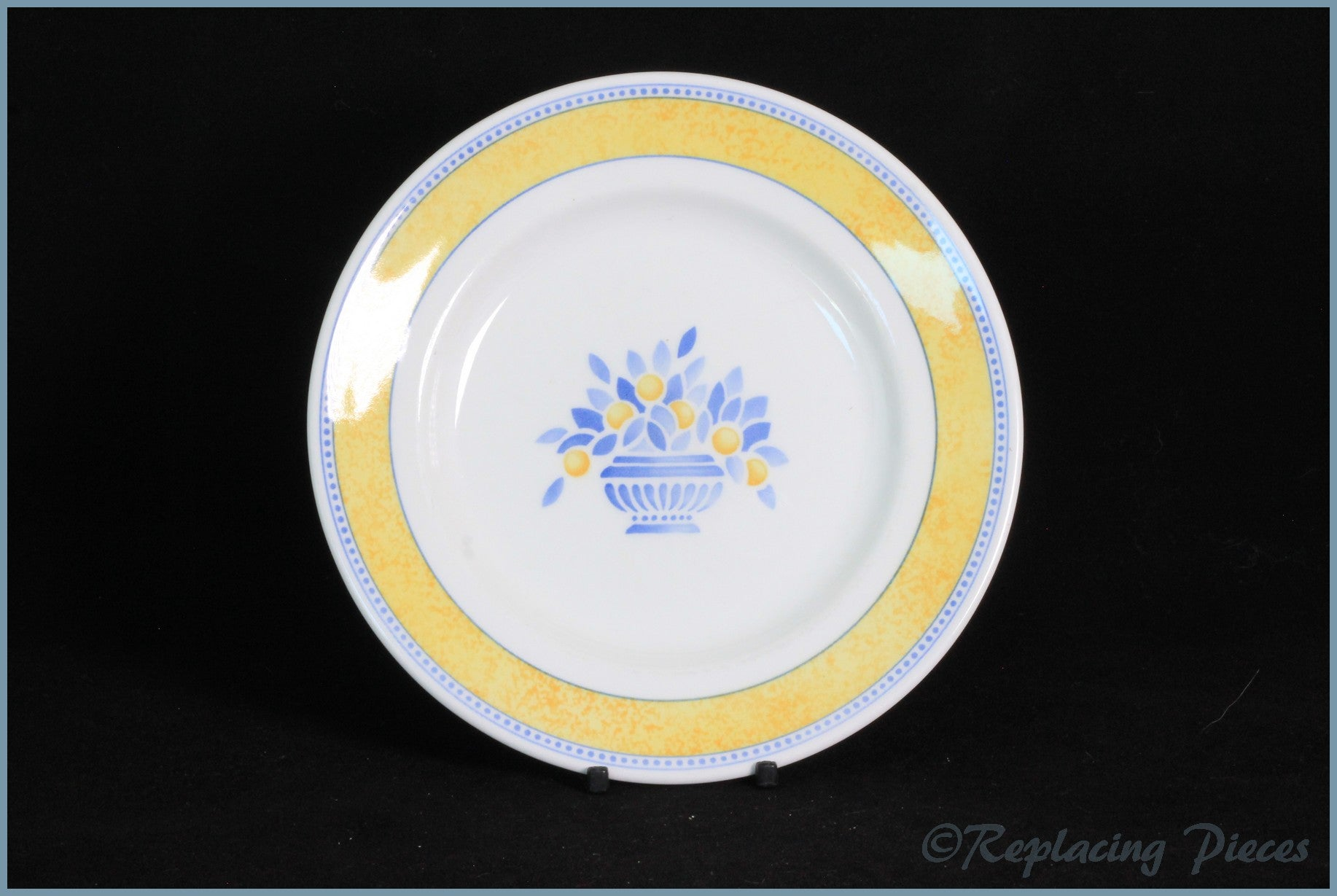 Johnson Brothers - Jardiniere (Yellow) - Side Plate