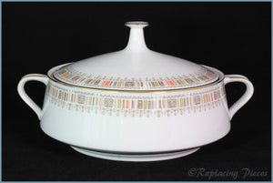 Noritake - Shastra - Lidded Vegetable Dish