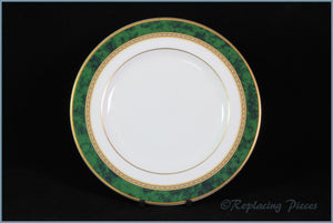 "Royal Doulton - Green Marble - 6 3/4"" Side Plate"