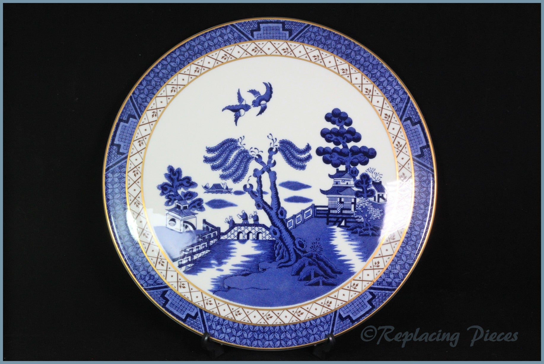 Royal Doulton - Real Old Willow - Gateau Plate