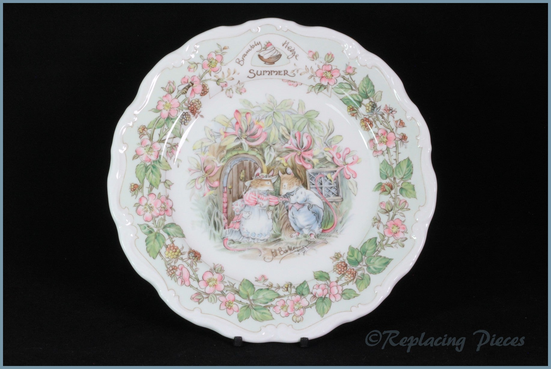 Royal Doulton - Brambly Hedge (Seasons) - Salad Plate (Summer)