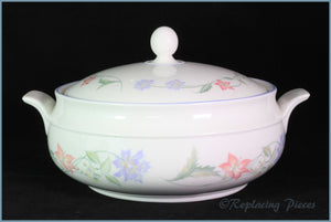 Royal Doulton - Summer Carnival - Lidded Vegetable Dish