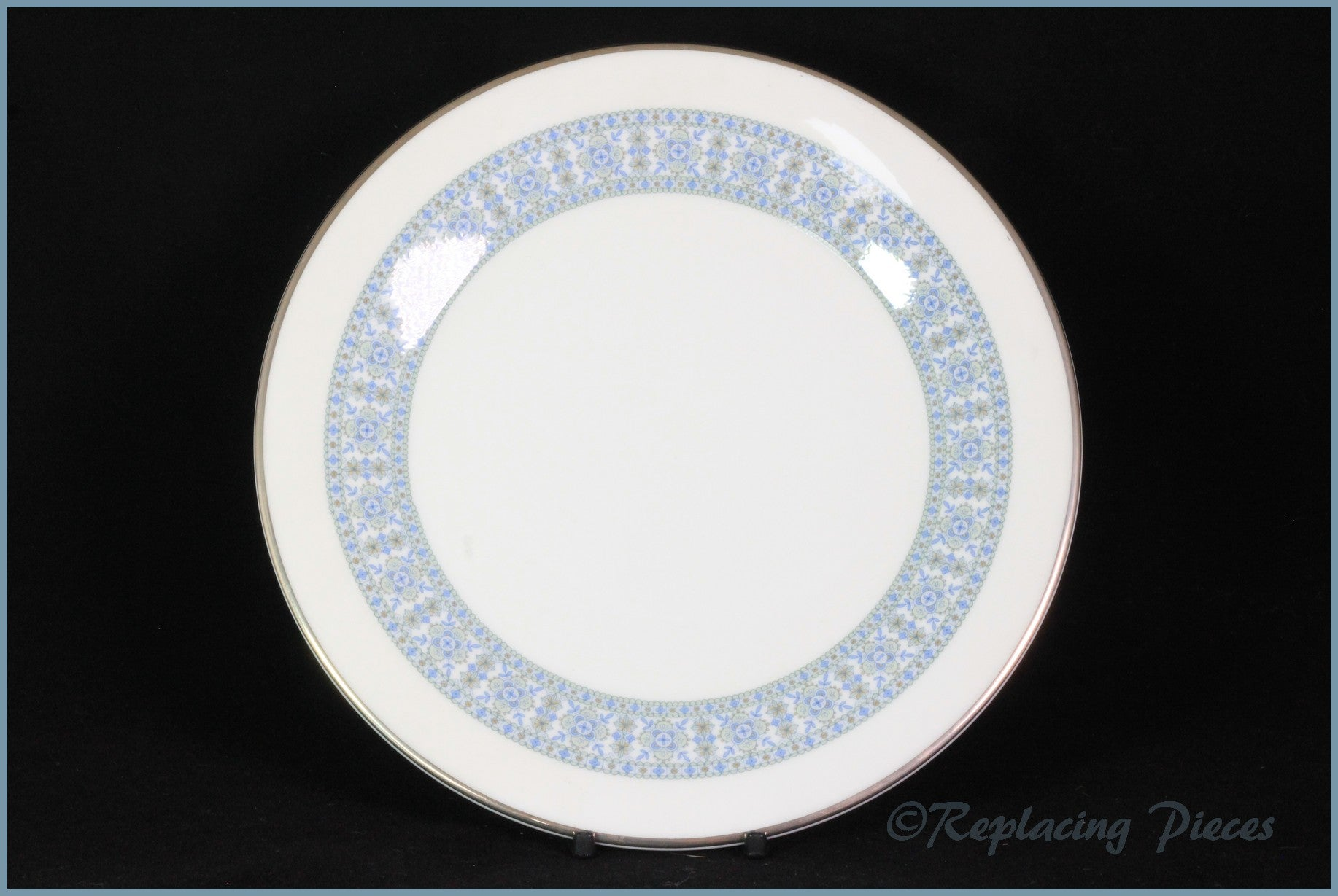 "Royal Doulton - Counterpoint (H5025) - 6 1/2"" Side Plate"