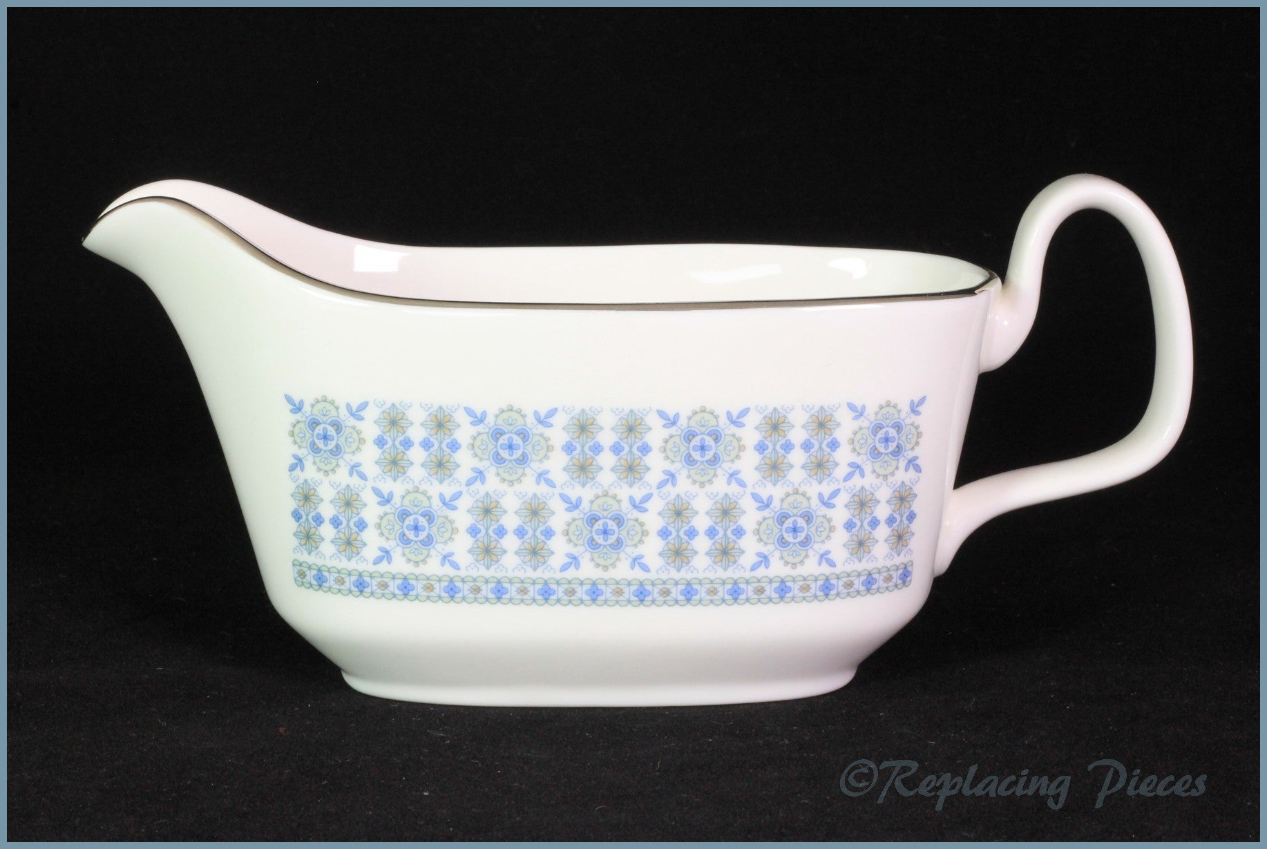 Royal Doulton - Counterpoint (H5025) - Gravy Boat