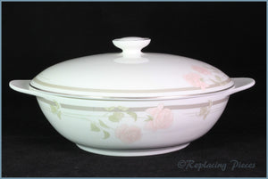 Royal Doulton - Twilight Rose (H5096) - Lidded Vegetable Dish