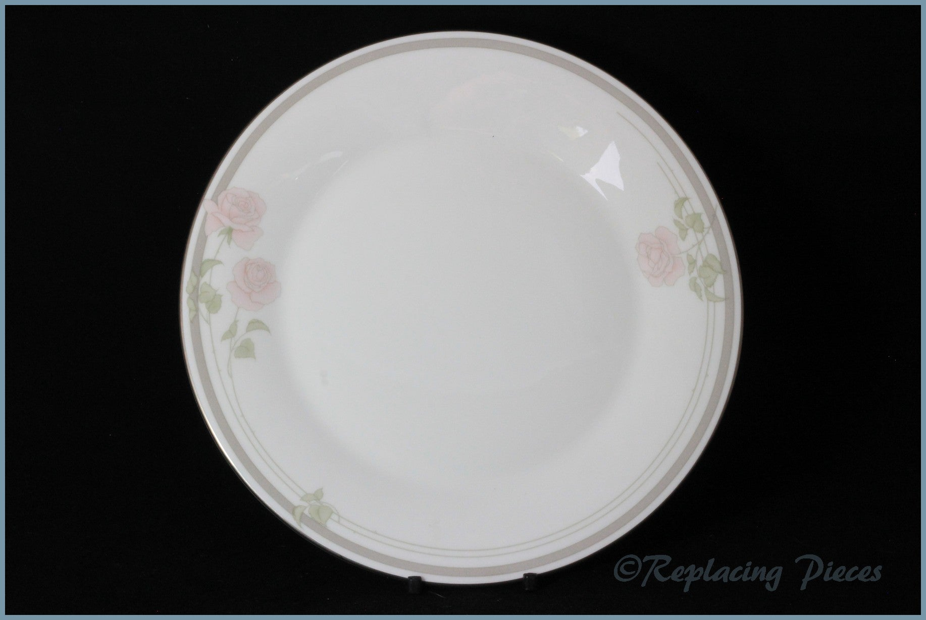 "Royal Doulton - Twilight Rose (H5096) - 9"" Luncheon Plate"
