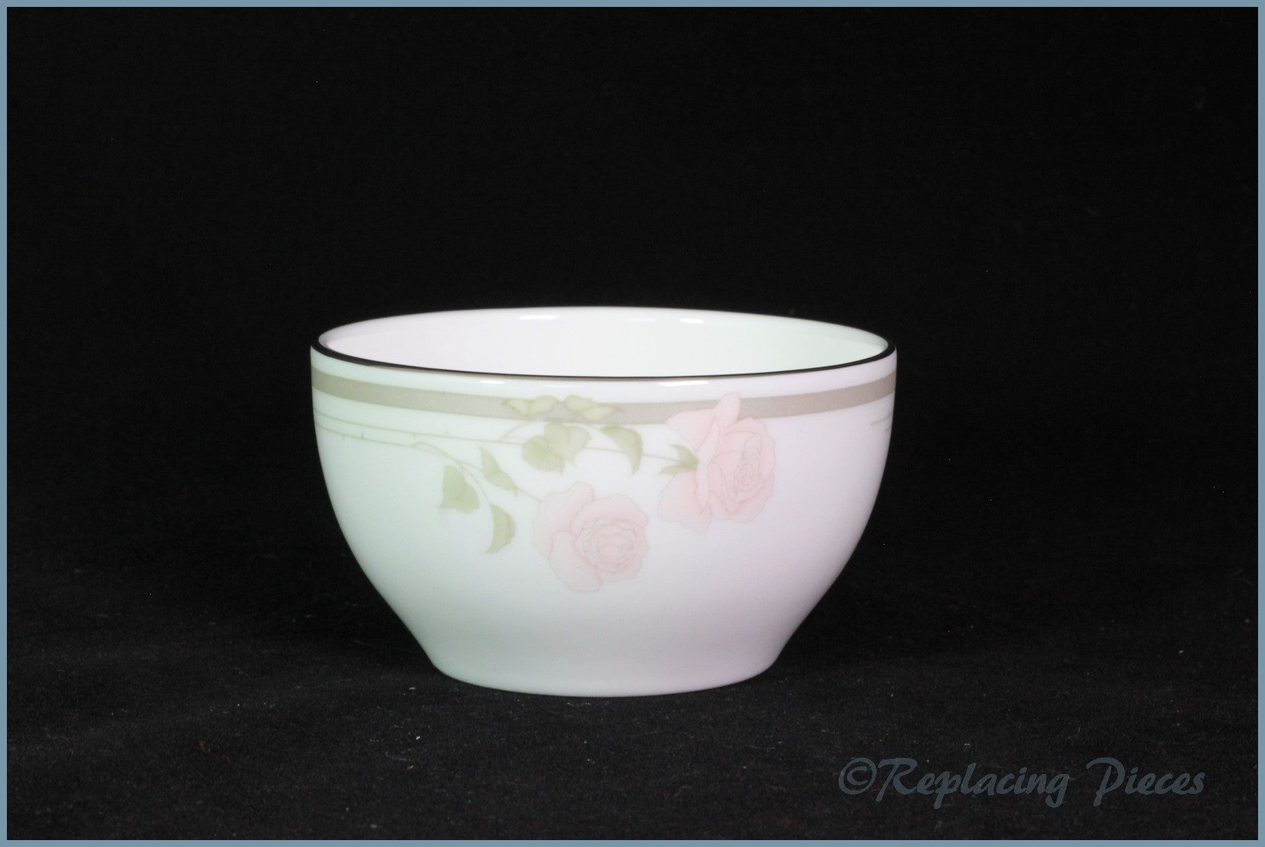 Royal Doulton - Twilight Rose (H5096) - Sugar Bowl (Non-Footed)