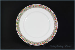 "Royal Doulton - Fireglow (TC1080) - 9"" Luncheon Plate"
