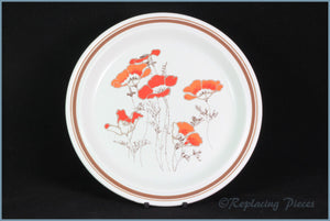 "Royal Doulton - Field Flower (LS1019) - 8 3/4"" Salad Plate"