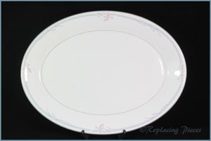 Royal Doulton - Carnation (H5084) - Oval Platter