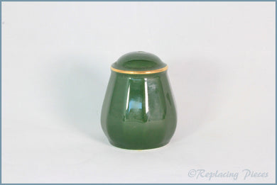 Apilco - Bistro (Green & Gold) - Salt Pot