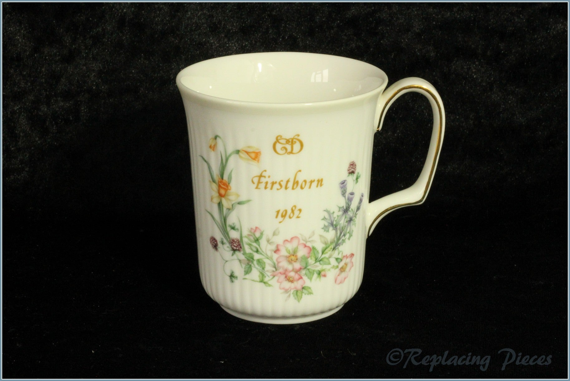Royal Albert - Royal Commemorative Mug - First Born